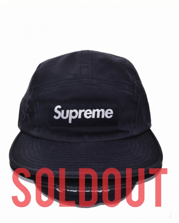 161b29c3ddc Supreme Side Zip Camp Cap
